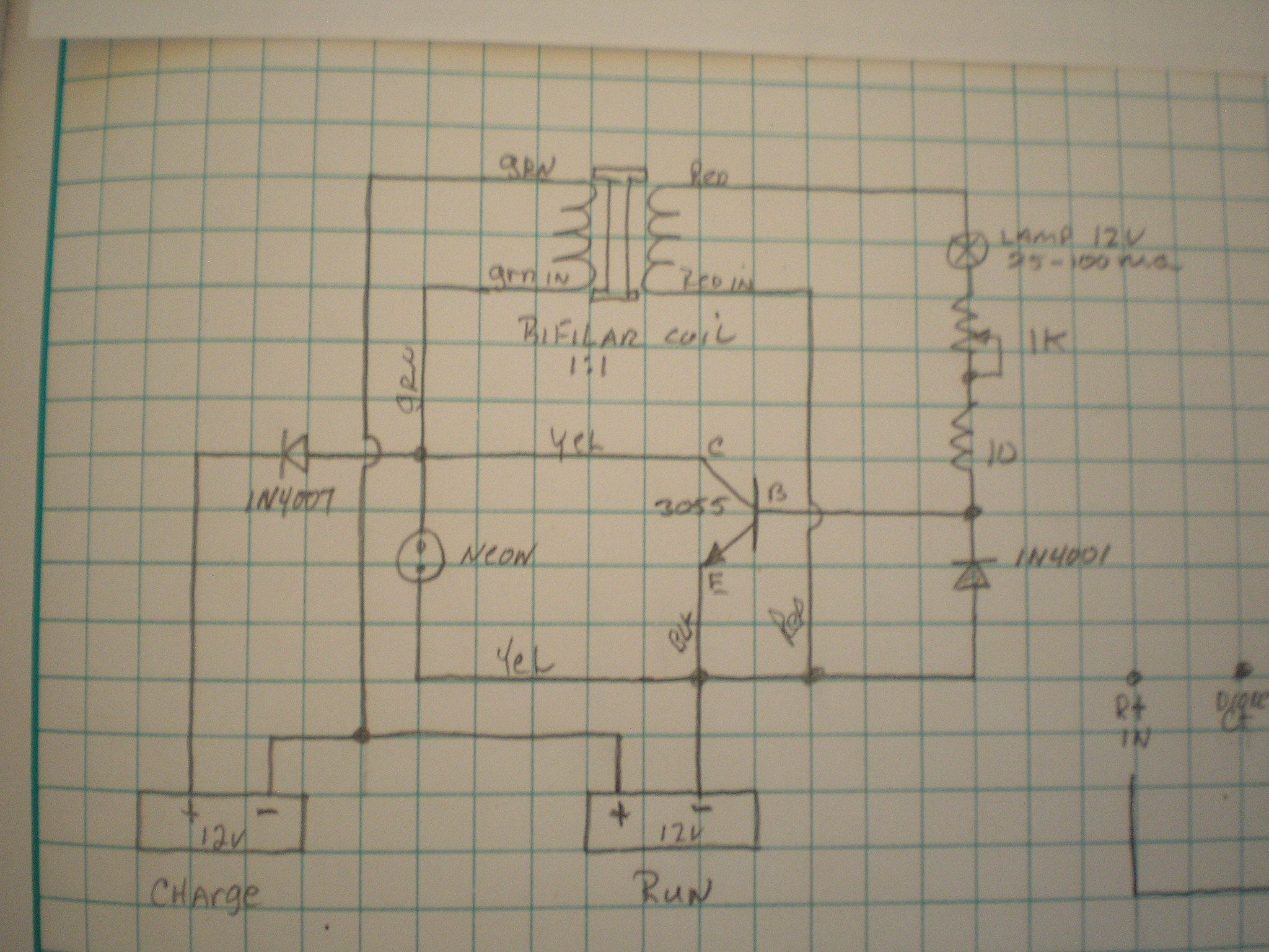 Projects Bedini Wiring Diagram The Circuit